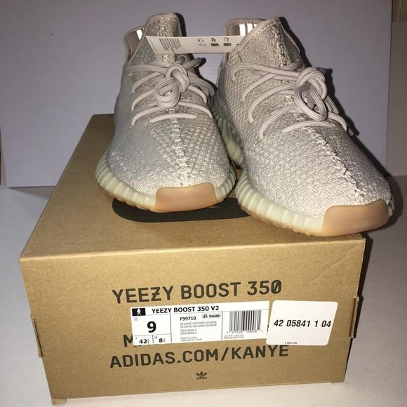 39d054acc Adidas Yeezy Boost 350 v2 Sesame Size 9